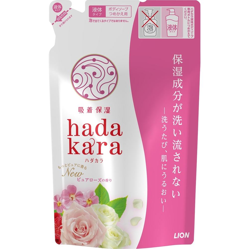 ハダカラボディソープ ピュアローズの香り つめかえ用 360ml