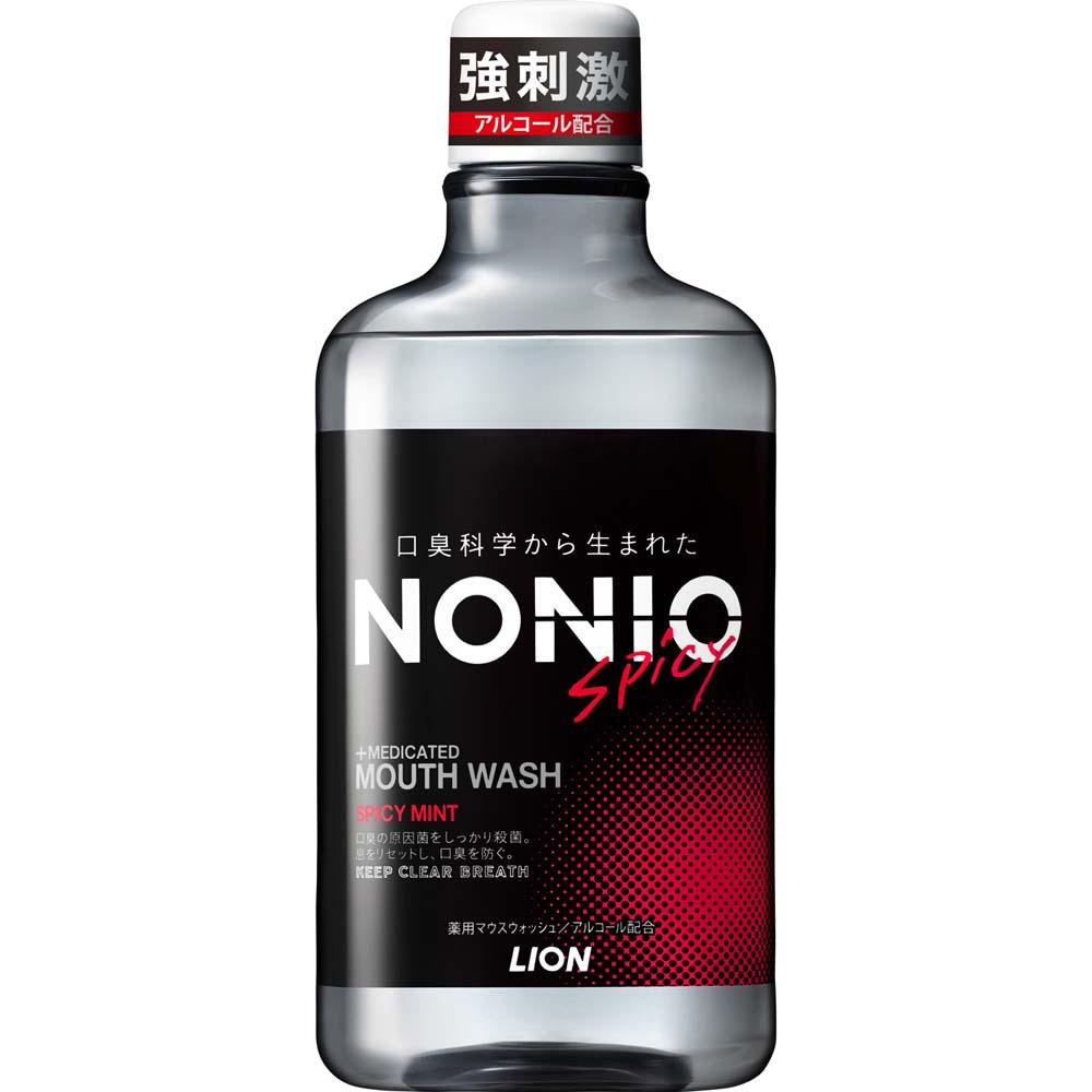 ◇ ライオン NONIO マウスウォッシュ スパイシーミント 600ml