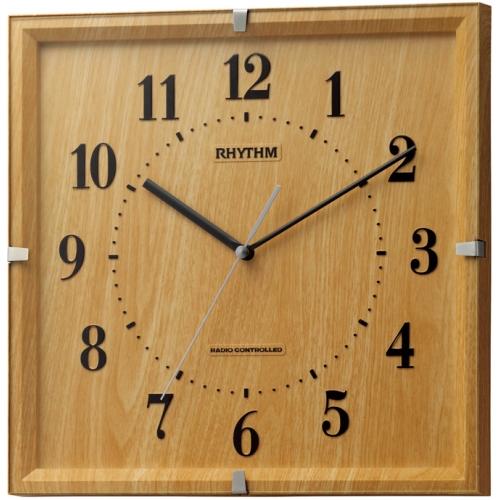 リズム電波掛時計ライブリーエミリ