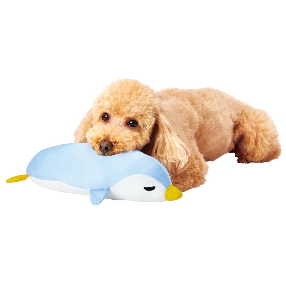 ペティオ 犬猫用 ひんやりあごまくらペンギン