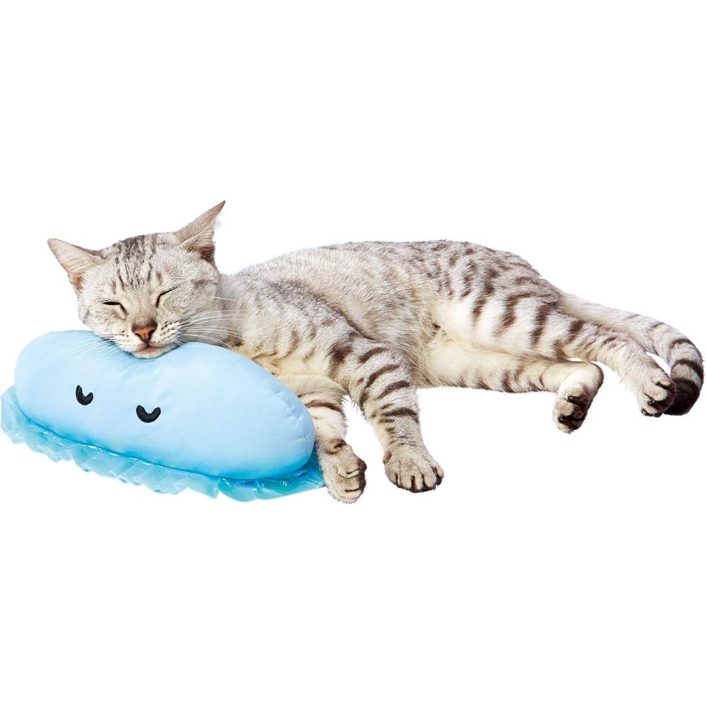 ペティオ 犬猫用 ひんやりあごまくらクラゲ