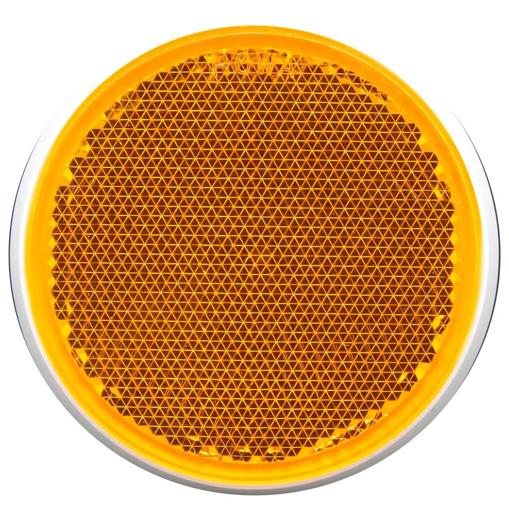 リフレクター R-60 オレンジ Φ60mm×6mm Z-9