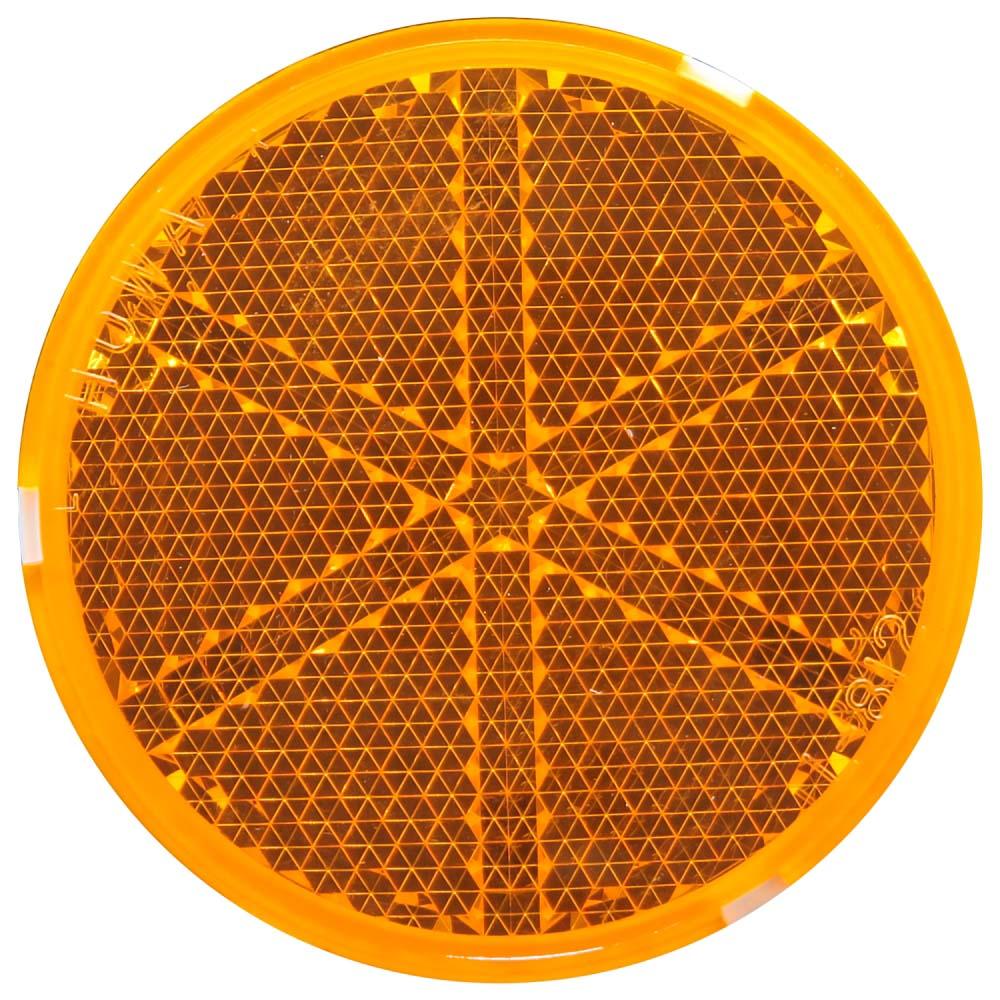 リフレクター R-80 オレンジ Φ80mm×10mm Z-12