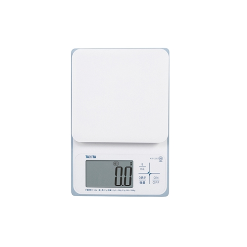 タニタ クッキングスケール KW−220 WH 2kg