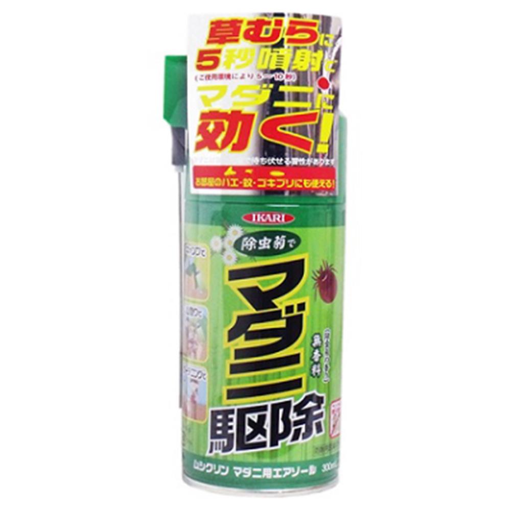 イカリ消毒 ムシクリン マダニ用エアゾール 300ml