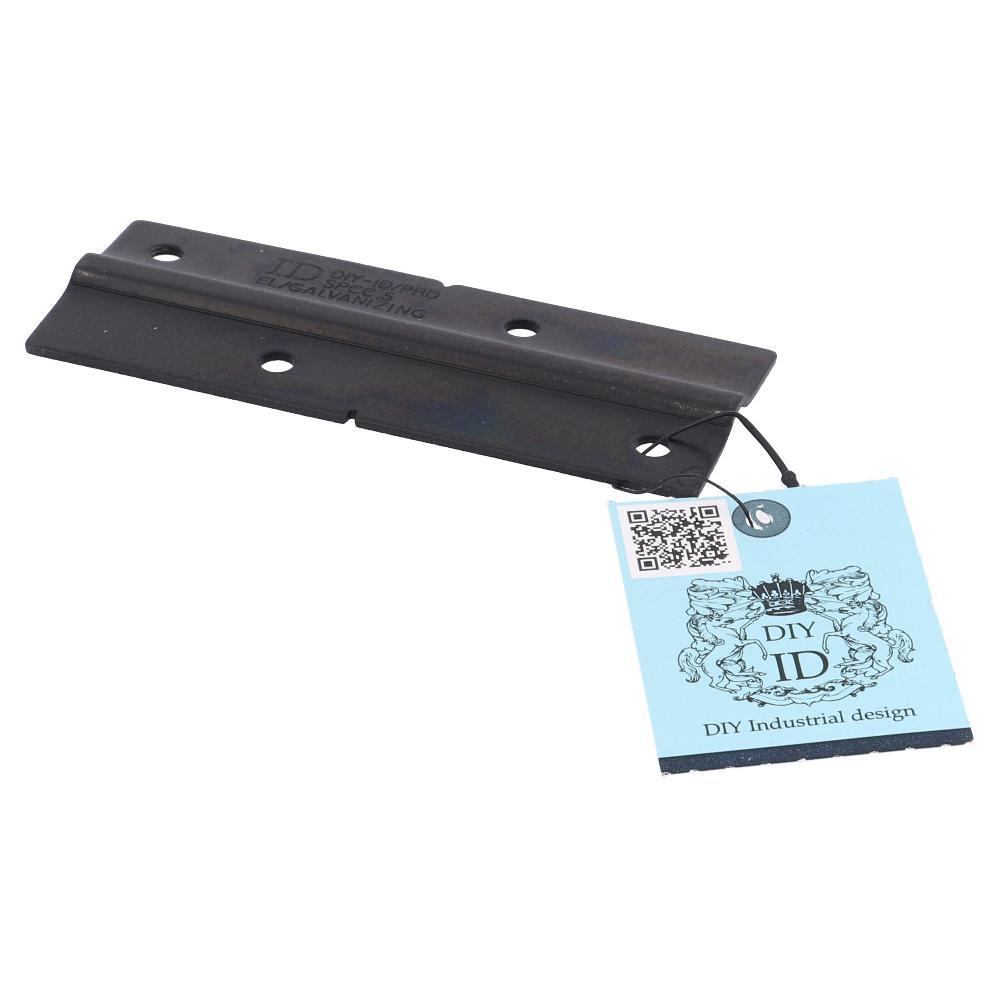 大里 亜鉛黒タイプレート×2幅36×90 ID−015