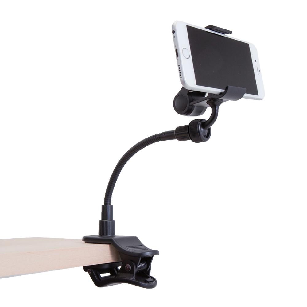スマートフォン用クリップアームスタンド  P-DSCLP15BK ブラック