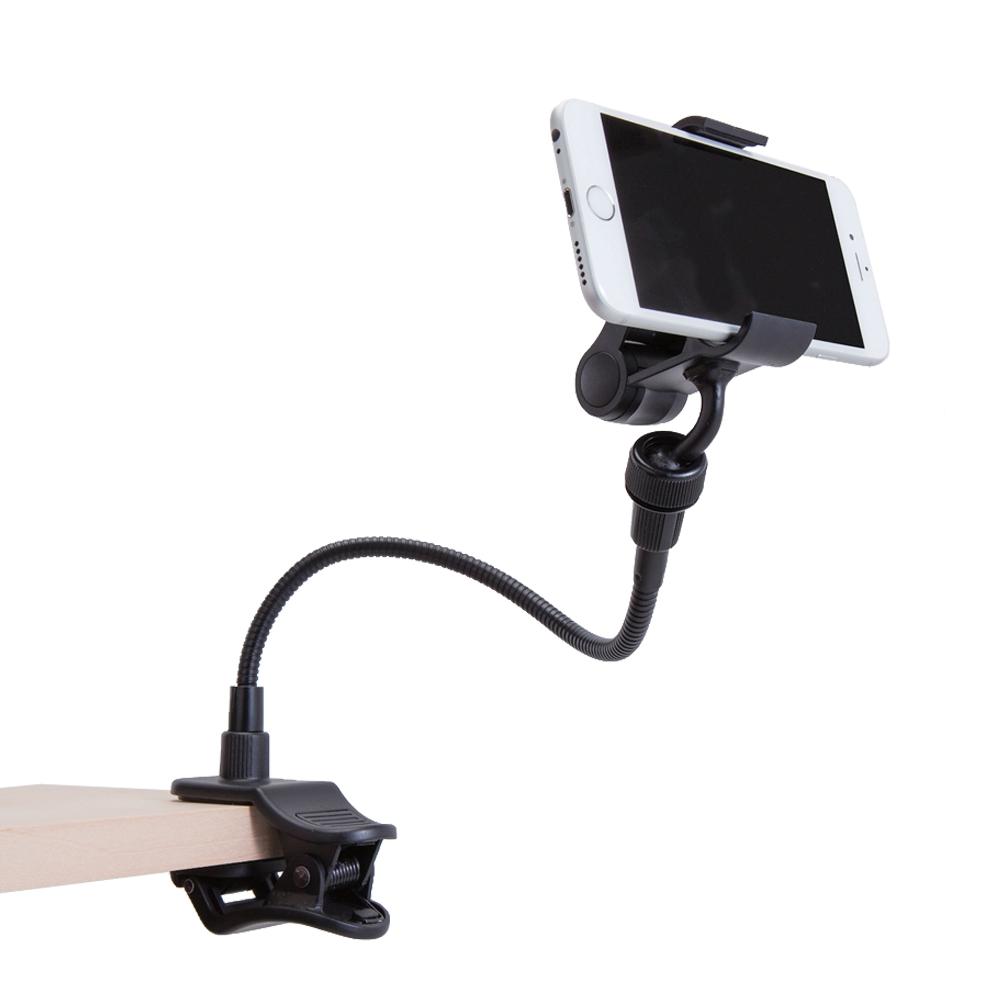 スマートフォン用クリップアームスタンド  P-DSCLP30BK ブラック