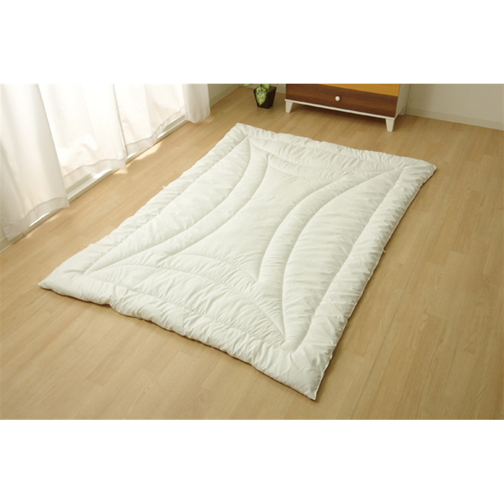 イケヒコ・コーポレーション(IKEHIKO)  掛け布団 セミダブル 寝具 洗える 無地 『FIヌード』 170×210cm