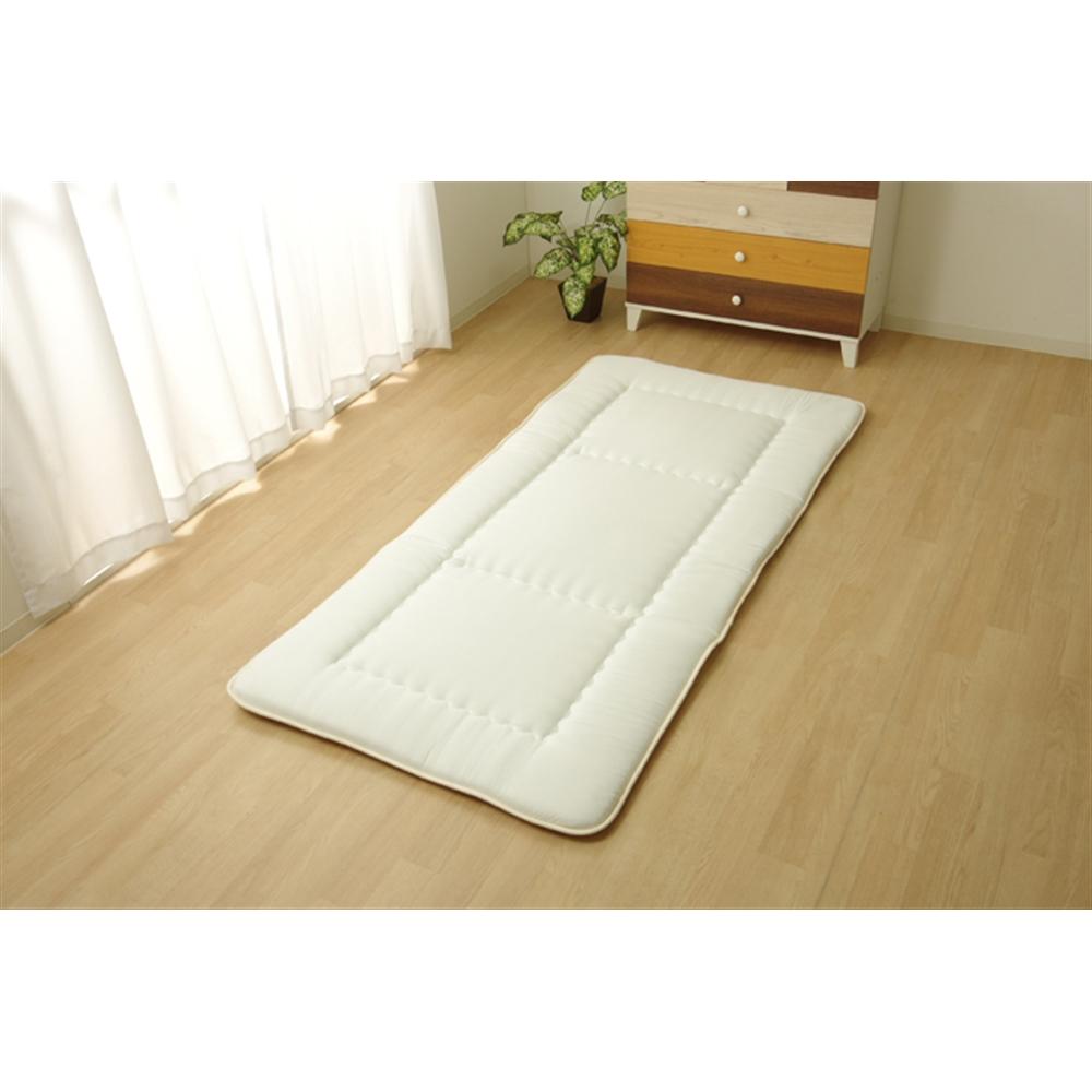 イケヒコ・コーポレーション(IKEHIKO)  敷き布団 セミダブル 寝具 洗える 無地 『FIヌード』 120×210cm