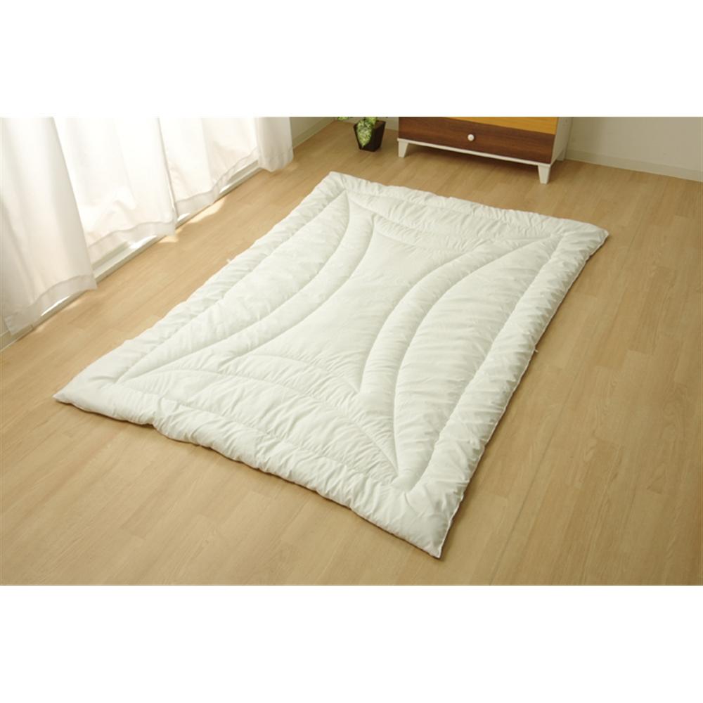 掛け布団 シングル 寝具 洗える 無地 『FIヌード』 150×210cm