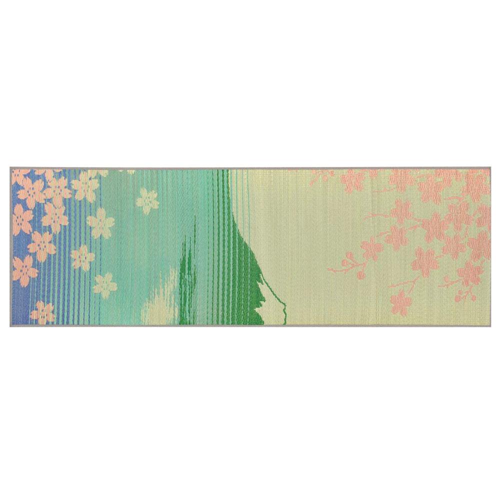 イケヒコ 日本製 国産 い草 ヨガマット SAKURA富士 約60x180cm