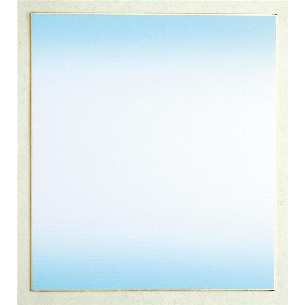 色紙ボカシブルー1 シキ−204