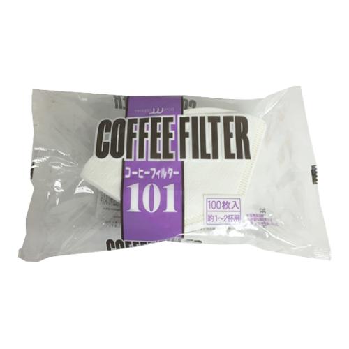 コーヒーフィルター101(白) 100枚