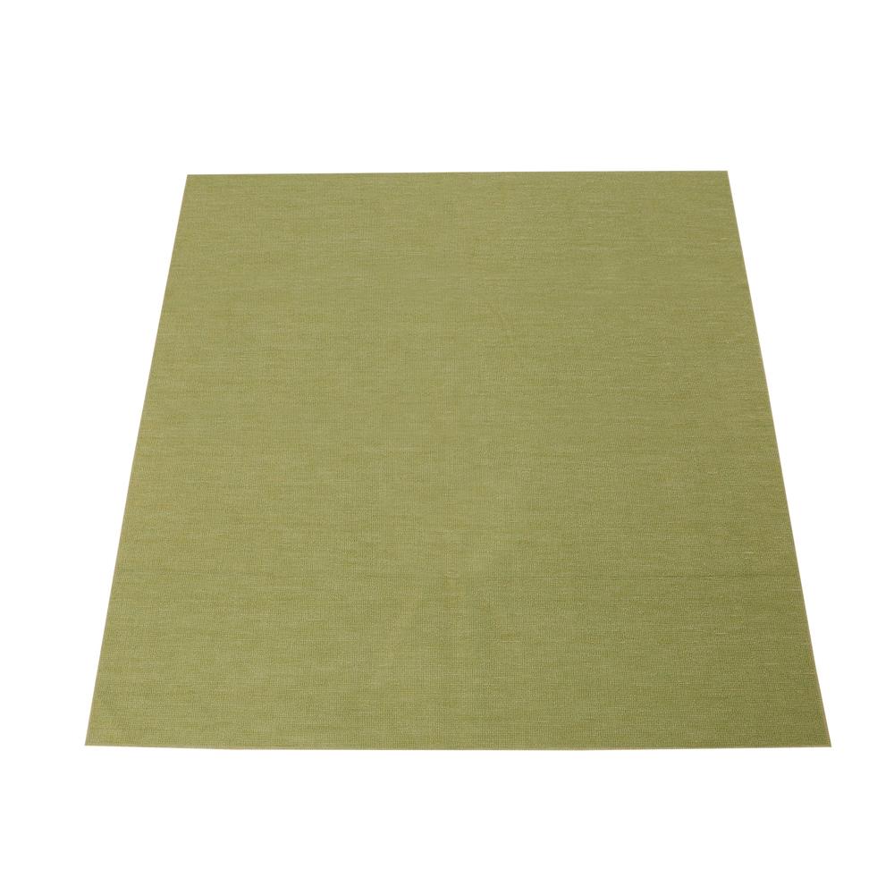 折りたたみカーペット『スマイル』 グリーン 江戸間2帖(約176×176cm)