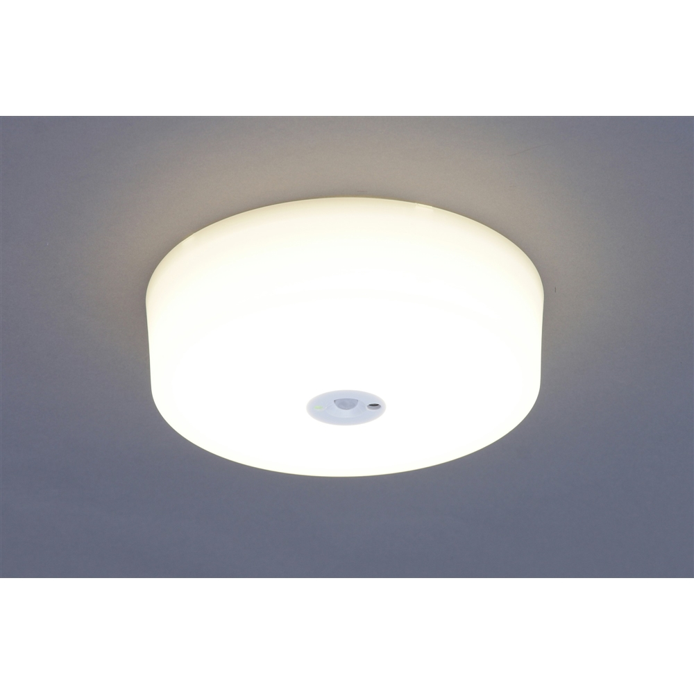 アイリスオーヤマ 小型LEDシーリング 人感電球SCL9L−HLSC