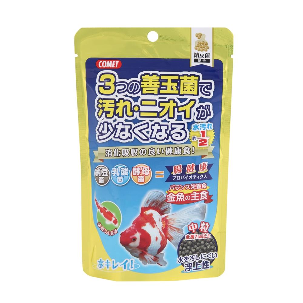 金魚の主食納豆菌 中粒 90g