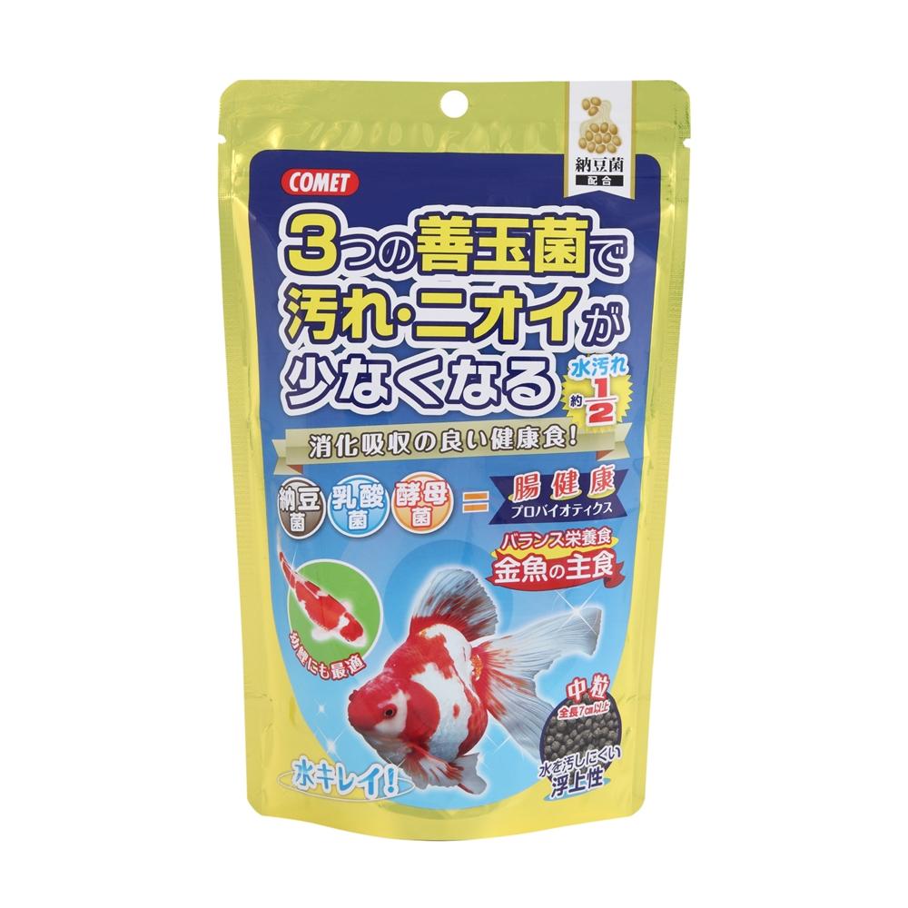 金魚の主食納豆菌 中粒 200g