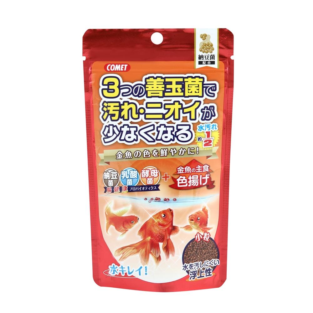 金魚の主食納豆菌色揚げ小粒 90g