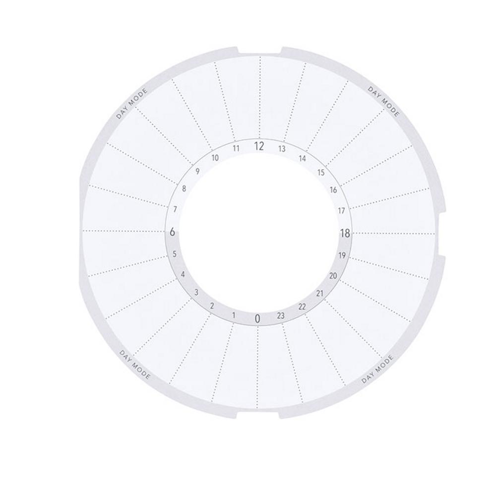 習慣時計「ルクル」専用スケジュ−ル台紙RUCP3
