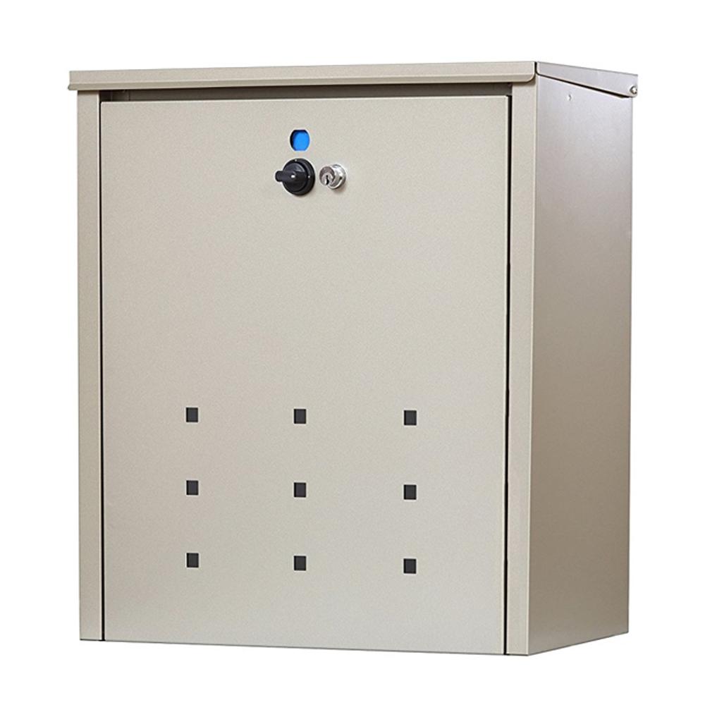メール便ポスト兼用宅配ボックス TFH−75S (※取付可能スタンド品番OPS−02MD TGY又はTRS−01TGY)
