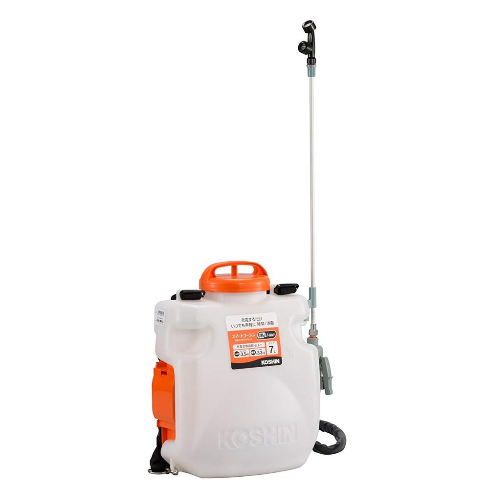 工進(KOSHIN) 充電式噴霧器 SLS-7 バッテリー・充電器付 タンク容量7L