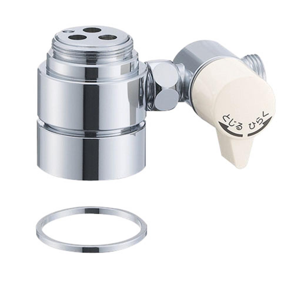 SANEI シングル混合栓用分岐アダプターB98-1A