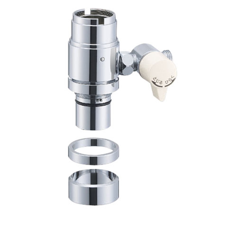 SANEI 水栓部品 シングル混合栓用分岐アダプター INAX用 B98−2B
