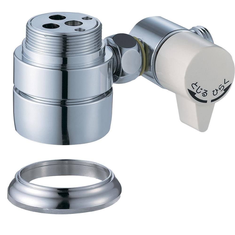 SANEI シングル混合栓用分岐アダプターB98-AU1