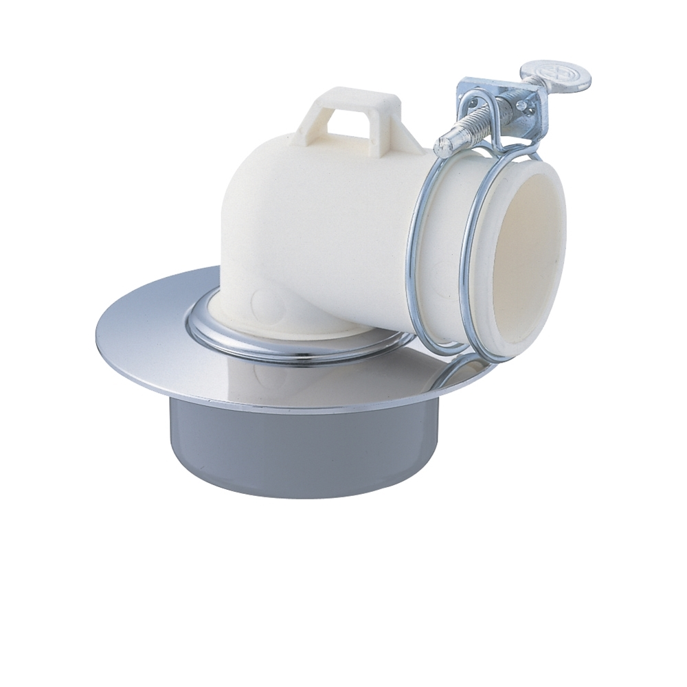 SANEI 洗濯機ホース用の排水口取り付けパーツ 洗濯機排水口 VP・VUパイプ兼用 JH551-50