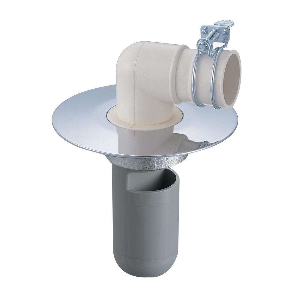 SANEI 【洗濯機ホース用の排水トラップ】洗濯機排水トラップ VP・VUパイプ兼用 H553-75型 H553-75