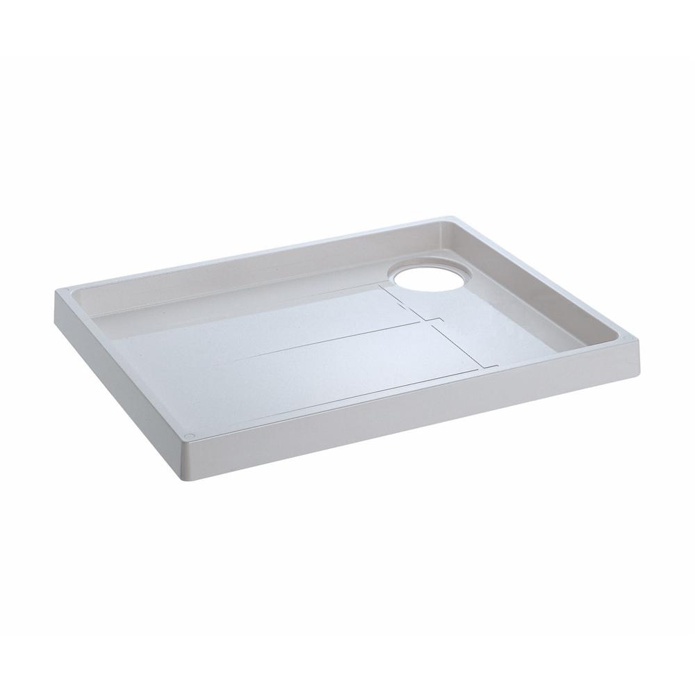 SANEI 【洗濯機パン】 トラップ穴左側 外寸640×800mm H541-800L