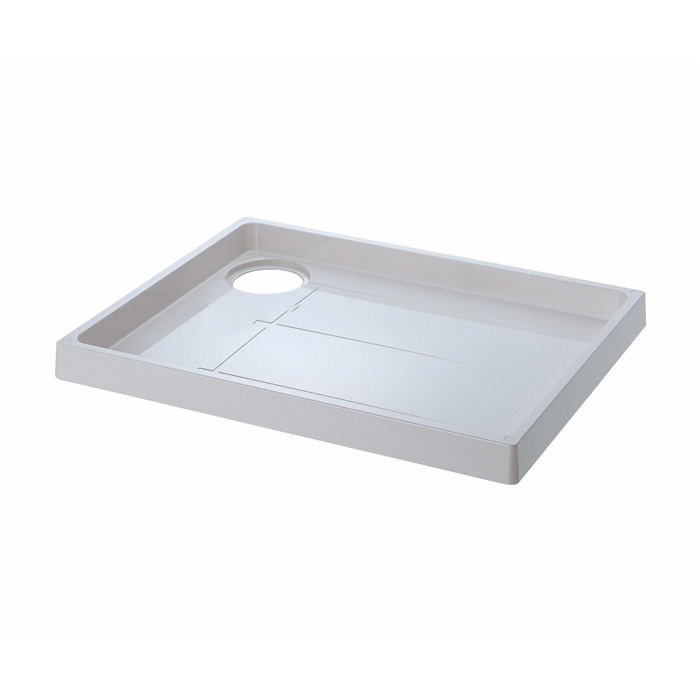 SANEI 【洗濯機パン】 トラップ穴右側 外寸640×800mm H541-800R
