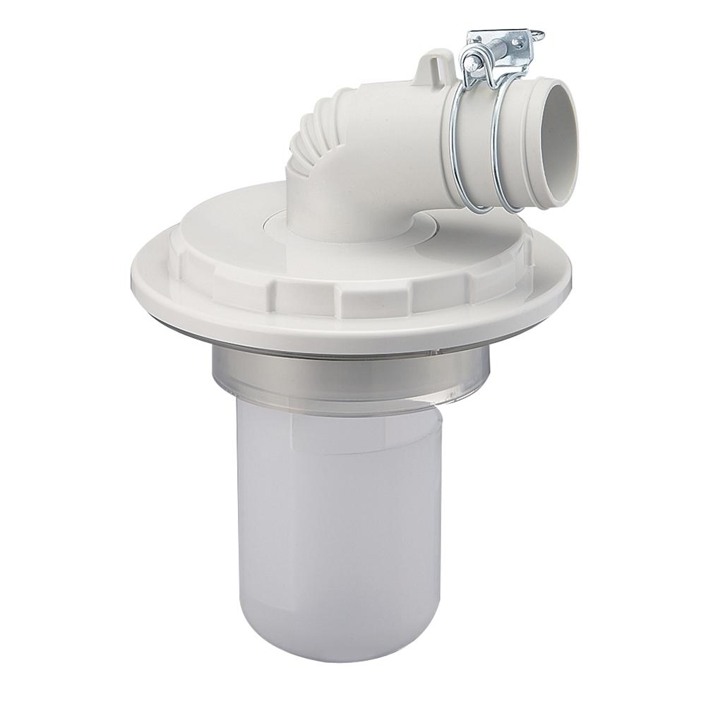 SANEI 【洗濯機ホース用の排水トラップ】洗濯機排水トラップ VP・VUパイプ兼用 H5500-75型 H5500-75