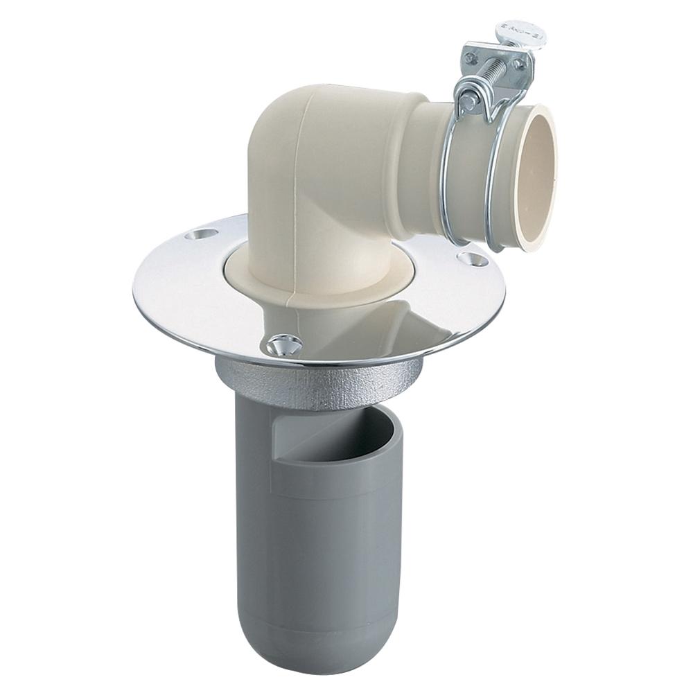 SANEI 【洗濯機ホース用の排水トラップ】洗濯機排水トラップ VP・VUパイプ兼用 H550-75 H550-75