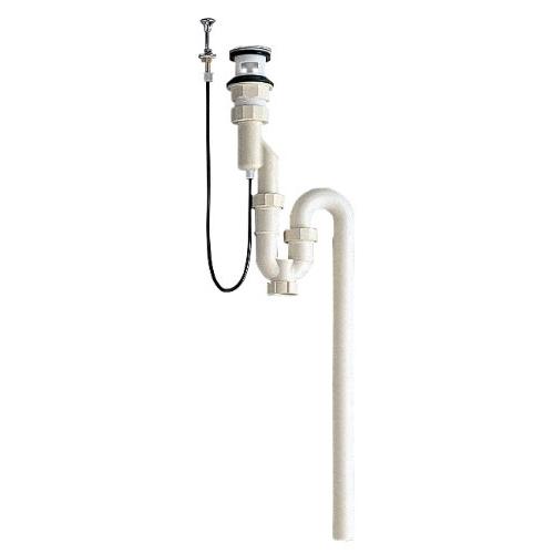 SANEI 洗髪排水栓付Sトラップ(ポップアップ)H772-38