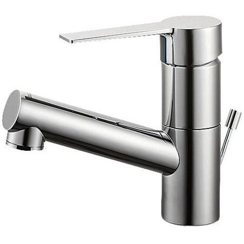 SANEI 【洗面用混合栓】 シングルワンホール混合栓 ポップアップ用
