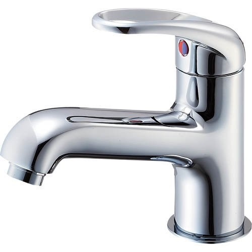 SANEI 【洗面所用混合栓】 シングルワンホール洗面混合栓 泡沫吐水タイプ
