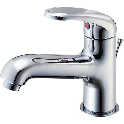 SANEI 【洗面所用混合栓】 シングルワンホール洗面混合栓 ポップアップ用