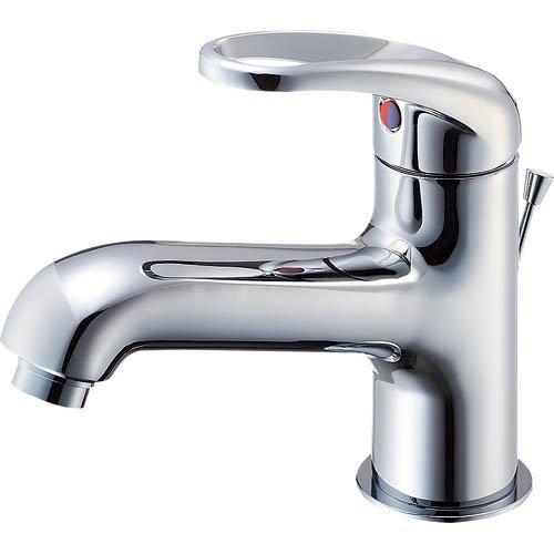 SANEI 【洗面所用混合栓】 シングルワンホール洗面混合栓 ポップアップ用 寒冷地用