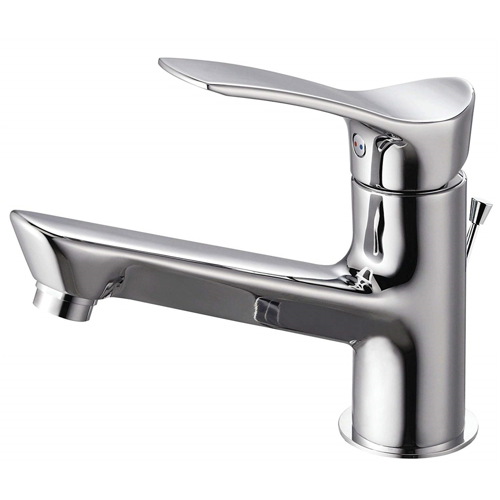SANEI 【洗面用混合栓】 シングルワンホール洗面混合栓 ポップアップ用 専用引き棒付き 取付穴径36~40mm