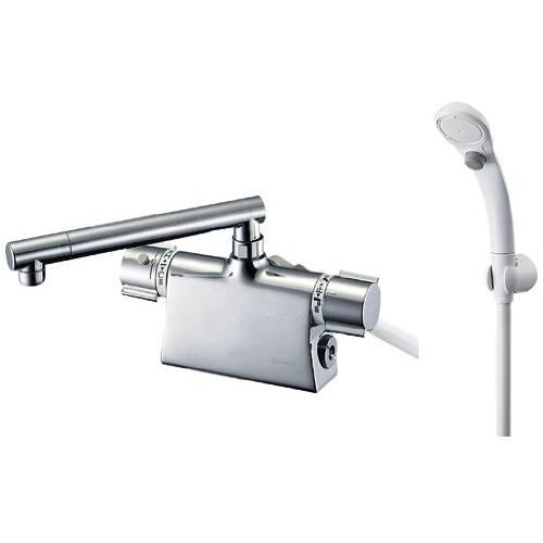 SANEI 【バス用混合栓】サーモデッキシャワー混合栓 ストップシャワー付き 取付け芯ピッチ102mm SK785DT2