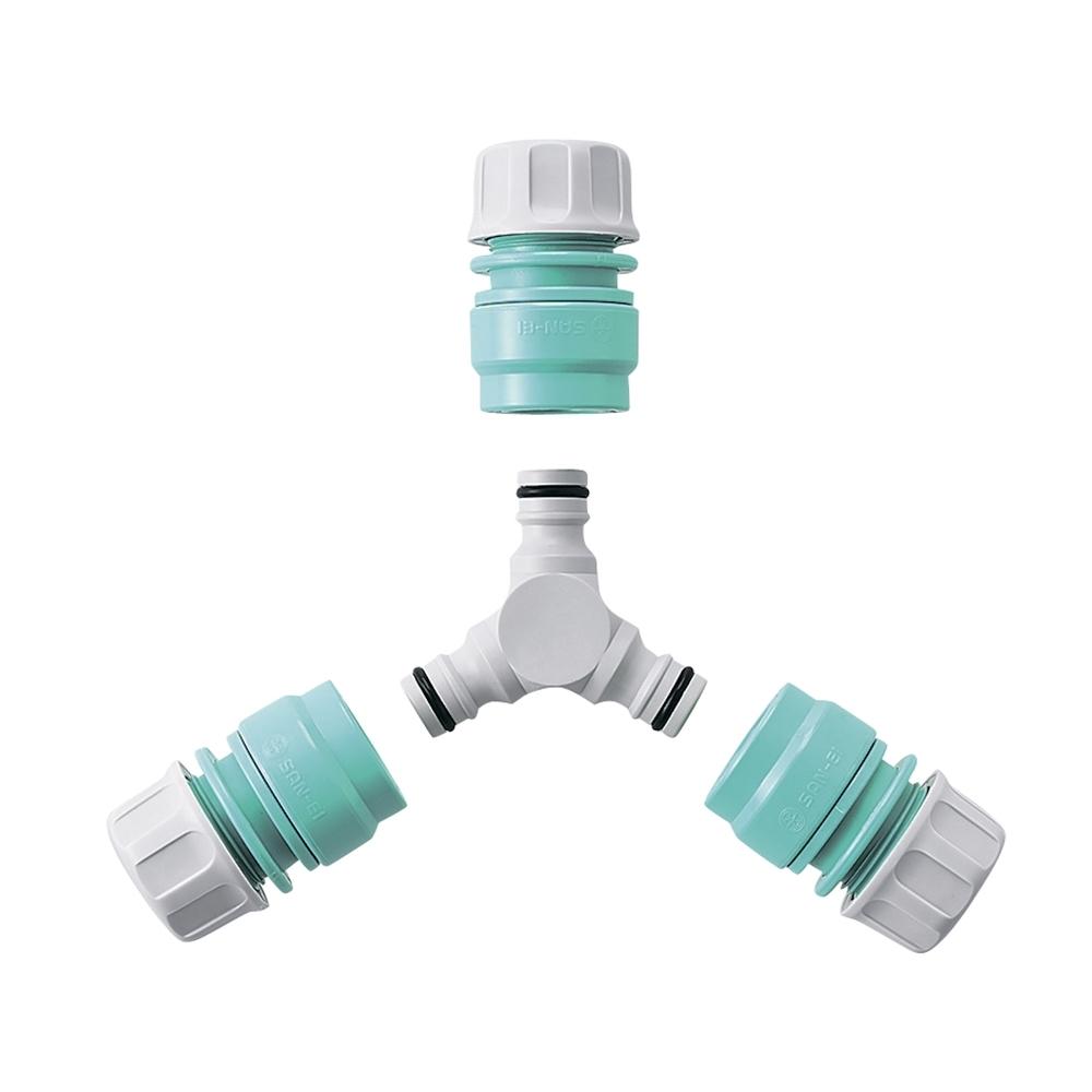 三栄水栓(SANーEI) 【2方向への分水に】 Y型ニップルセット PL70−30S