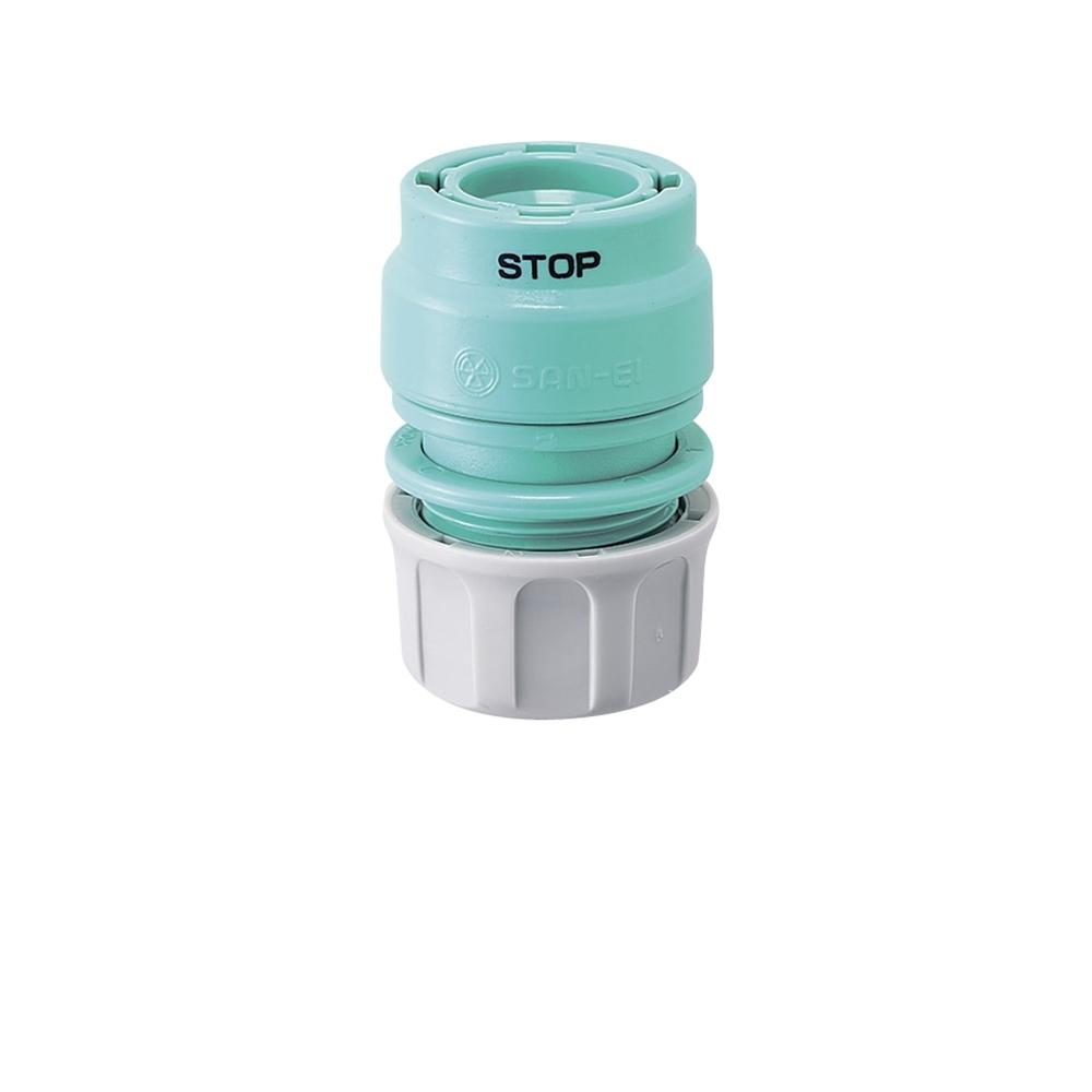 三栄水栓(SANーEI) 【散水器をワンタッチでつなぐ】 ストップジョイント PL70−51
