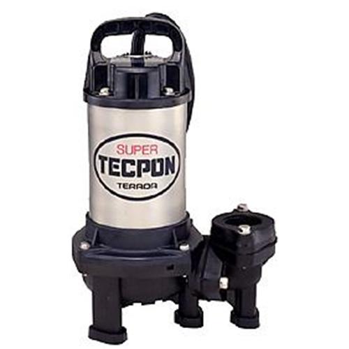テラダポンプ 汚物用水中ポンプ 口径40mm 全揚程2.0m時 吐出量170L/分 PX-250T 50Hz 電源三相200V