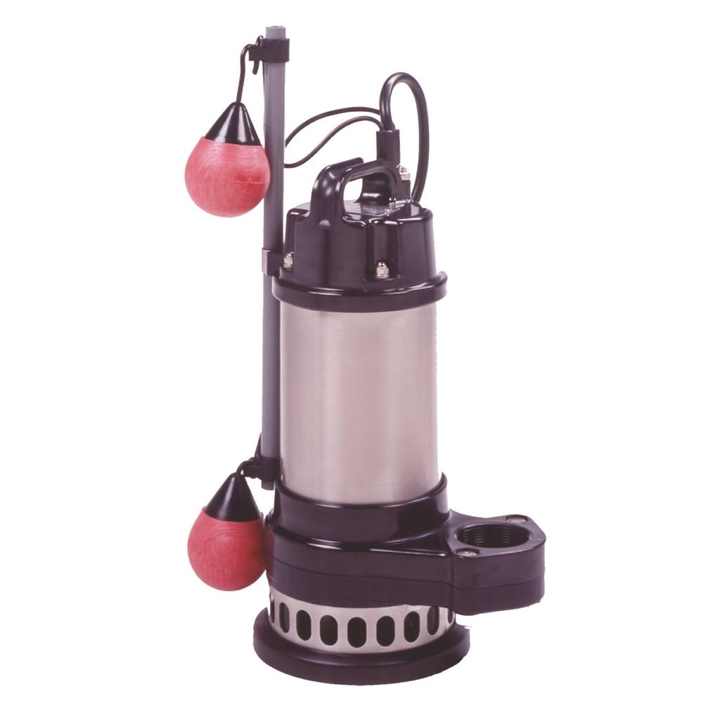 テラダポンプ 自動汚物用水中ポンプ 口径50mm 全揚程6.0m時 吐出量150L/分 CXA-400 50Hz 電源単相100V