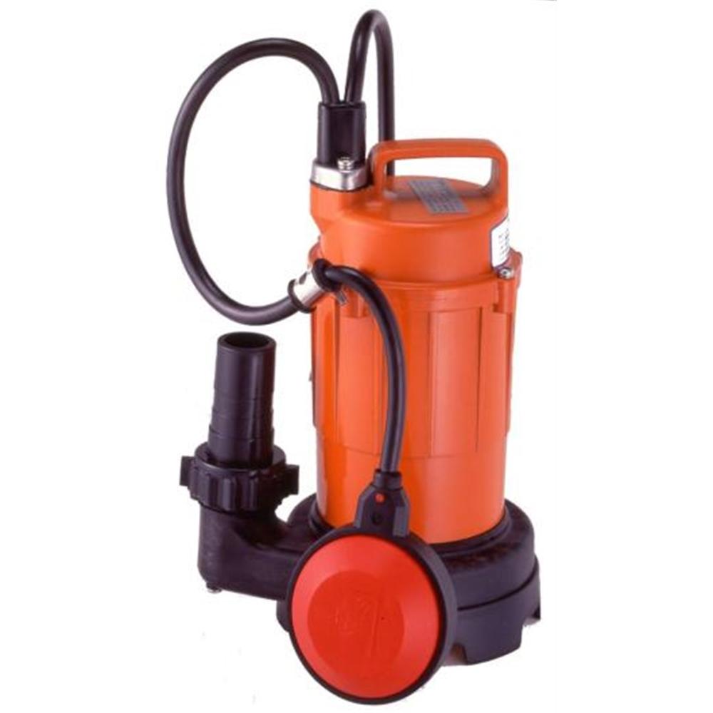 テラダポンプ 自動汚水用水中ポンプ 口径32mm 全揚程5.0m時 吐出量80L/分 SA-150C 50Hz 電源単相100V