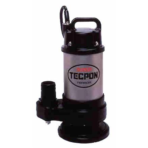 テラダポンプ 自動汚物用水中ポンプ 口径50mm 全揚程4.0m時 吐出量120L/分 CX-250T 60Hz 電源三相200V