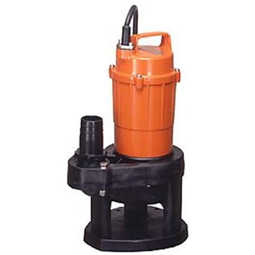 テラダポンプ 汚物用水中ポンプ 口径40mm 全揚程3.5m時 吐出量100L/分 SX-150 60Hz 電源単相100V