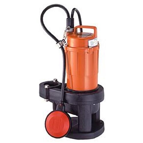 テラダポンプ 自動汚物用水中ポンプ 口径40mm 全揚程3.5m時 吐出量100L/分 SXA-150 60Hz 電源単相100V